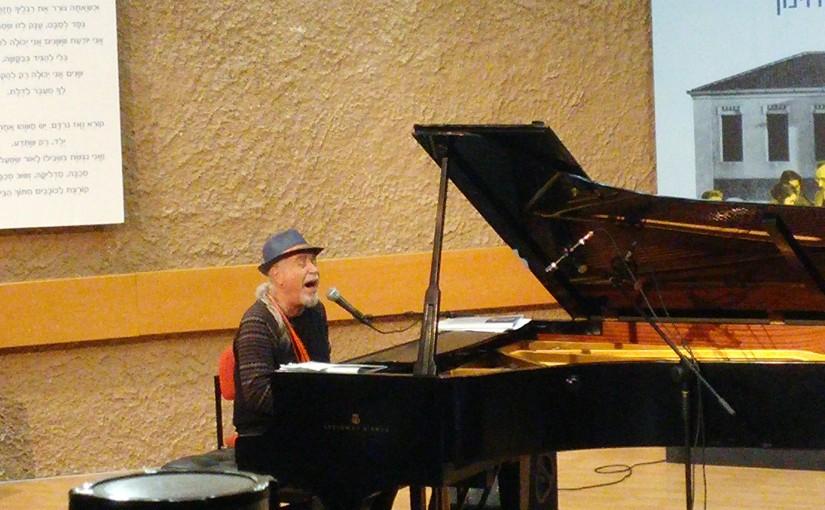 מגמת מוזיקה במפגש עם שלמה גרוניך